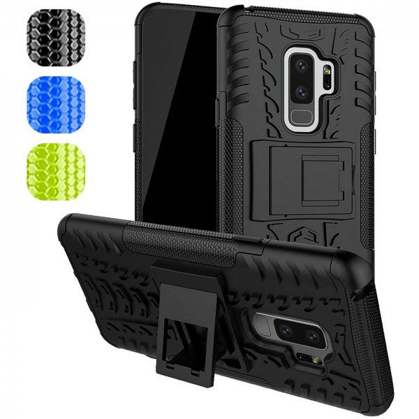 Safers Outdoor Hülle für Samsung Galaxy S9 Plus Case Hybrid Armor Cover Schutzhülle