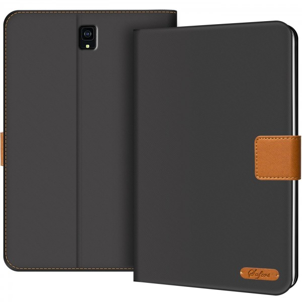 Safers Texture Case für Samsung Galaxy Tab S4 10.5 Hülle Tablet Tasche mit Kartenfach