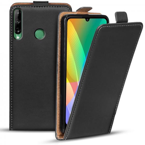 Safers Flipcase für Huawei Y6p Hülle Klapphülle Cover klassische Handy Schutzhülle
