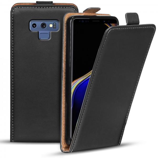 Safers Flipcase für Samsung Galaxy Note 9 Hülle Klapphülle Cover klassische Handy Schutzhülle