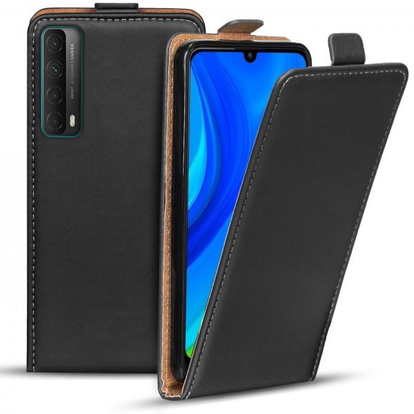 Safers Flipcase für Huawei P Smart 2021 Hülle Klapphülle Cover klassische Handy Schutzhülle
