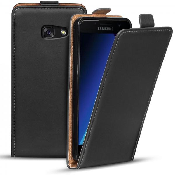 Safers Flipcase für Samsung Galaxy A3 2017 Hülle Klapphülle Cover klassische Handy Schutzhülle