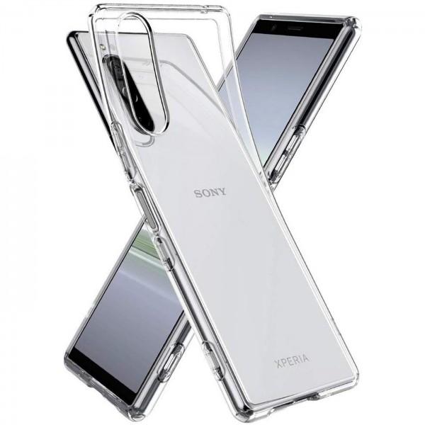 Safers Zero Case für Sony Xperia 5 Hülle Transparent Slim Cover Clear Schutzhülle