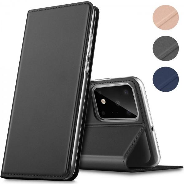 Safers Electro Flip für Samsung Galaxy S20 Ultra Hülle Magnet Case Handy Tasche Klapphülle