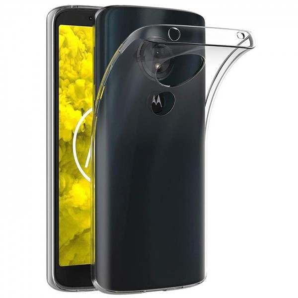 Safers Zero Case für Motorola Moto G6 Hülle Transparent Slim Cover Clear Schutzhülle