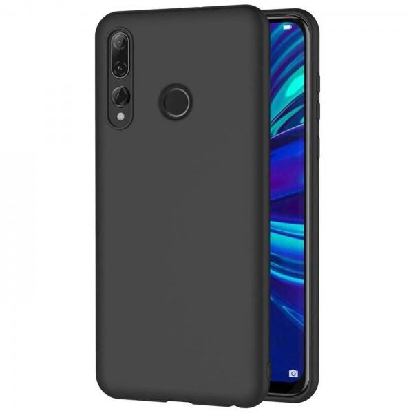 Safers Classic TPU für Huawei P Smart+ 2019 Schutzhülle Hülle Schwarz Handy Case