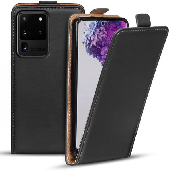 Safers Flipcase für Samsung Galaxy S20 Ultra Hülle Klapphülle Cover klassische Handy Schutzhülle
