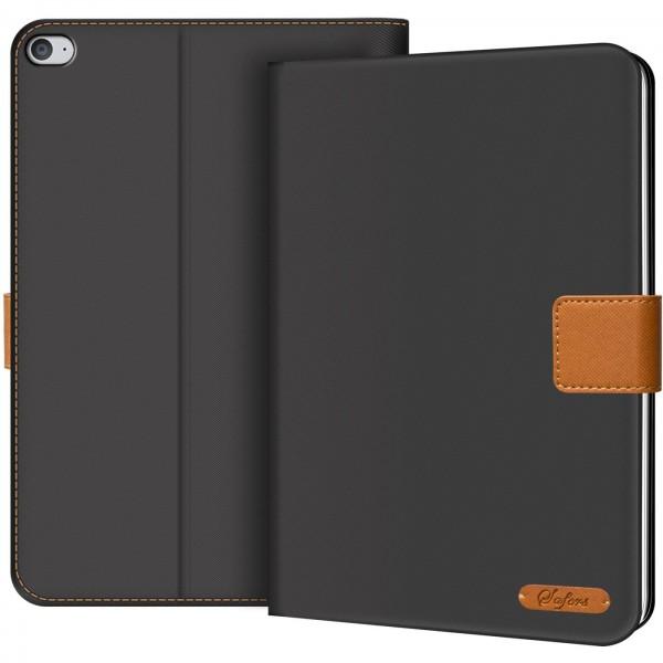 Safers Texture Case für iPad Mini 4 Hülle Tablet Tasche mit Kartenfach