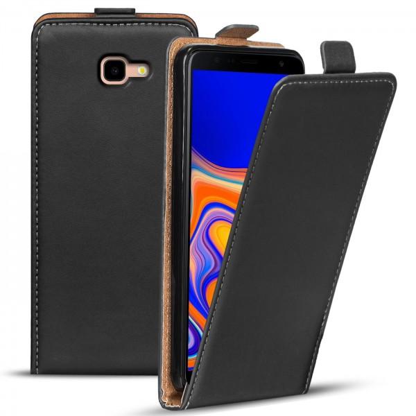 Safers Flipcase für Samsung Galaxy J4 Plus Hülle Klapphülle Cover klassische Handy Schutzhülle