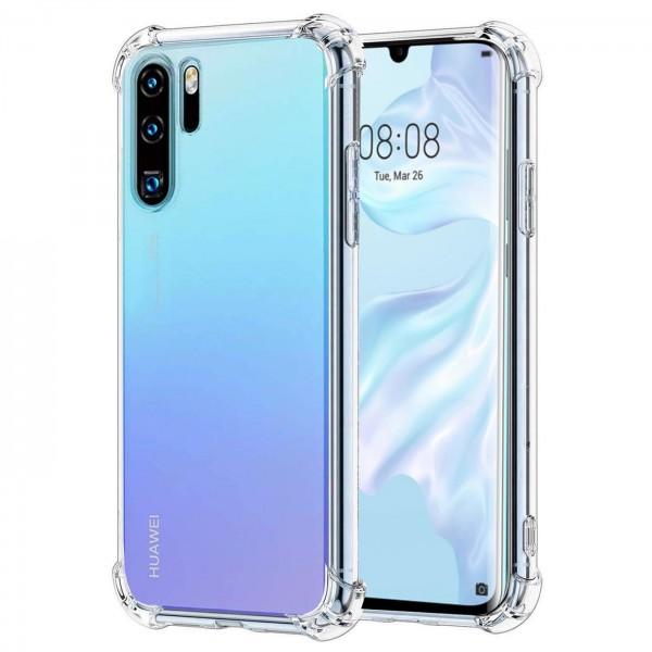 Safers Rugged TPU für Huawei P30 Pro Schutzhülle Anti Shock Handy Case Transparent Cover