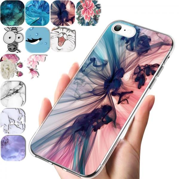 Safers IMD Case für Apple iPhone 6 / 6S Hülle Silikon Case mit Muster Schutzhülle
