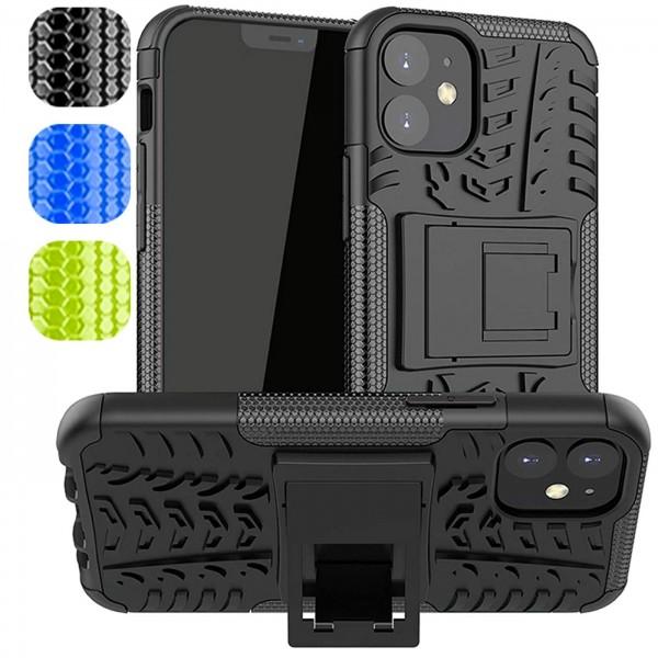 Safers Outdoor Hülle für Apple iPhone 12 Mini Case Hybrid Armor Cover Schutzhülle