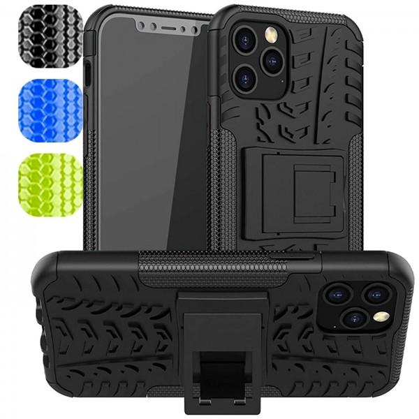 Safers Outdoor Hülle für Apple iPhone 12 / 12 Pro Case Hybrid Armor Cover Schutzhülle