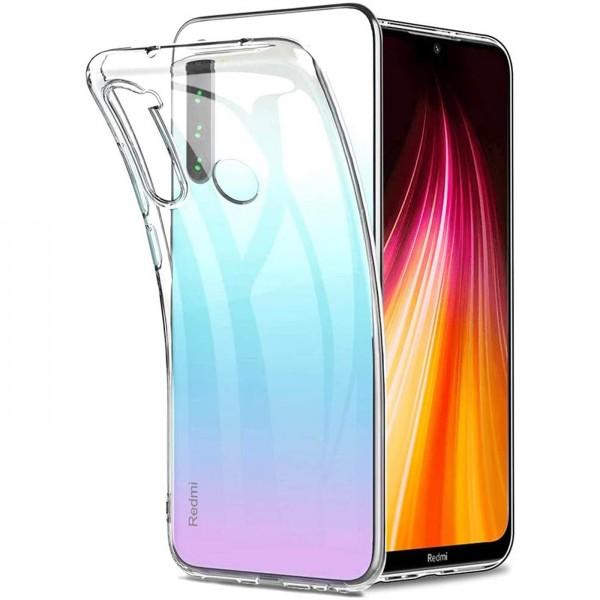 Safers Zero Case für Xiaomi Redmi Note 8T Hülle Transparent Slim Cover Clear Schutzhülle