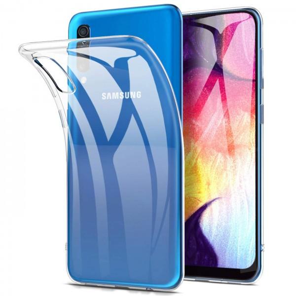 Safers Zero Case für Samsung Galaxy A50 / A30s Hülle Transparent Slim Cover Clear Schutzhülle