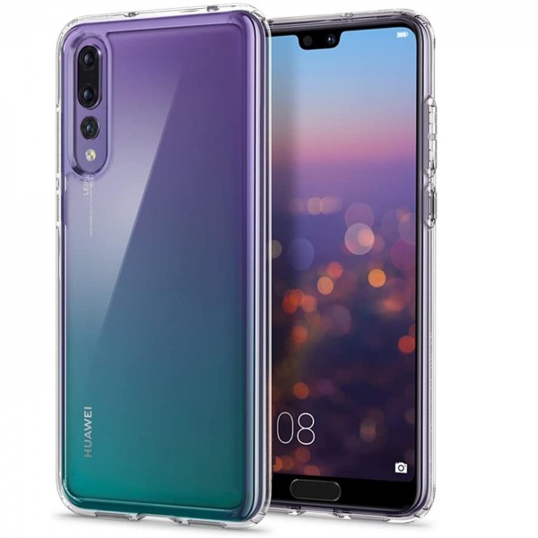 Safers Zero Case für Huawei P20 Pro Hülle Transparent Slim Cover Clear Schutzhülle
