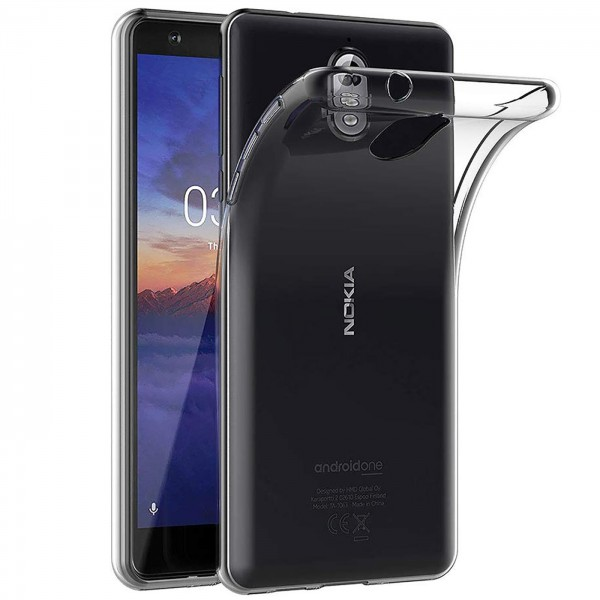 Safers Zero Case für Nokia 3.1 Hülle Transparent Slim Cover Clear Schutzhülle