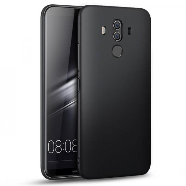 Safers Classic TPU für Huawei Mate 10 Pro Schutzhülle Hülle Schwarz Handy Case