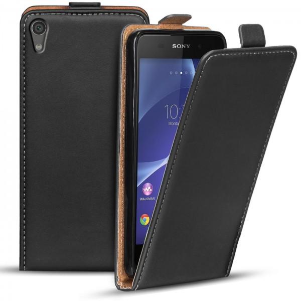 Safers Flipcase für Sony Xperia Z2 Hülle Klapphülle Cover klassische Handy Schutzhülle