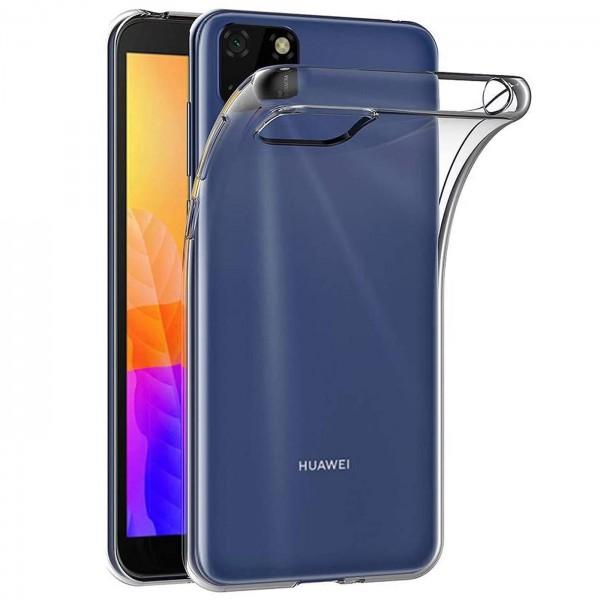 Safers Zero Case für Huawei Y5p Hülle Transparent Slim Cover Clear Schutzhülle