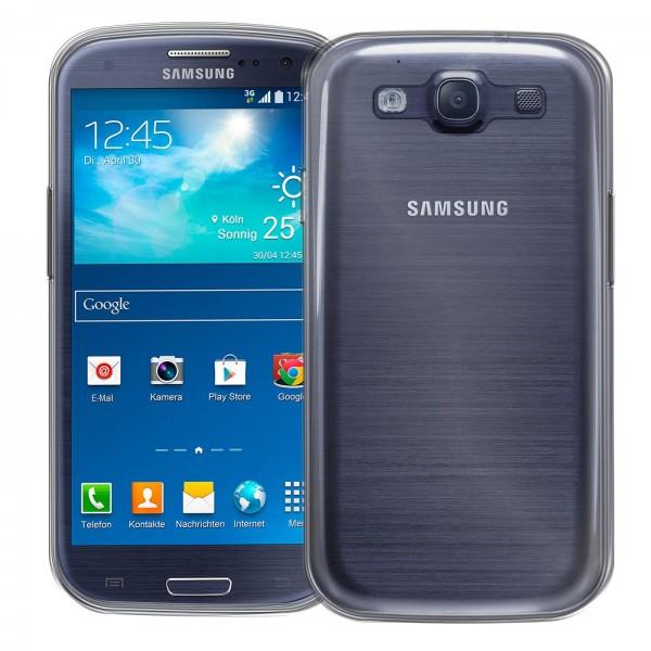 Safers Zero Case für Samsung Galaxy S3 Hülle Transparent Slim Cover Clear Schutzhülle