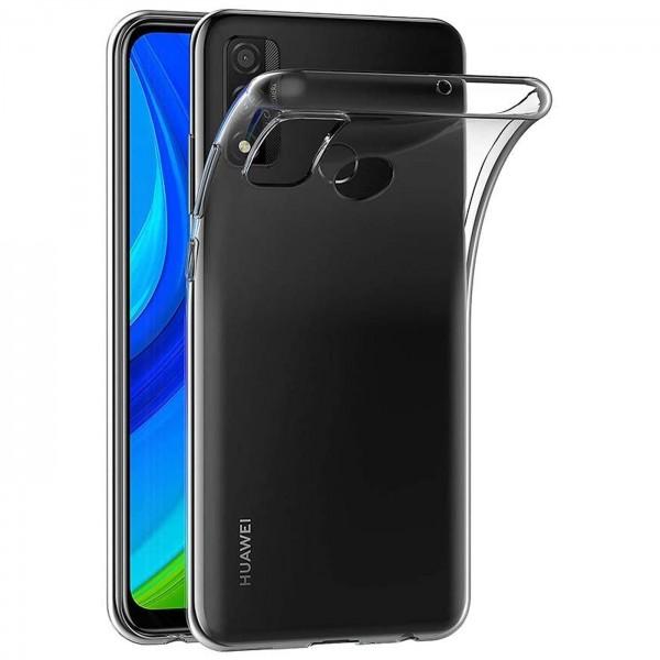 Safers Zero Case für Huawei P Smart 2020 Hülle Transparent Slim Cover Clear Schutzhülle