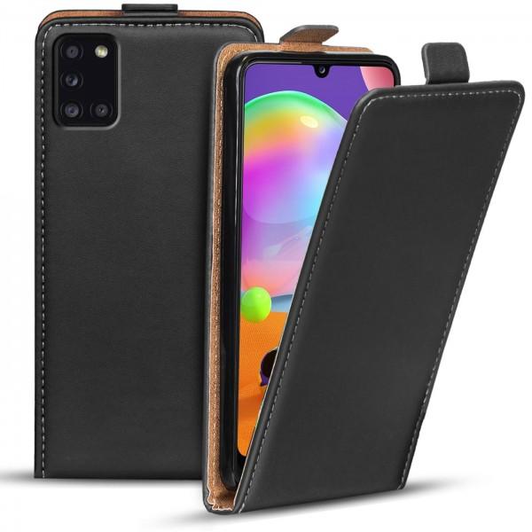 Safers Flipcase für Samsung Galaxy A31 Hülle Klapphülle Cover klassische Handy Schutzhülle