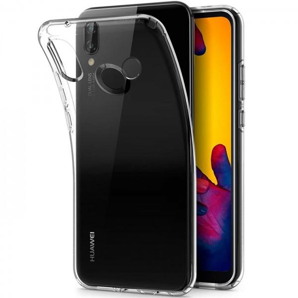 Safers Zero Case für Huawei P20 Lite Hülle Transparent Slim Cover Clear Schutzhülle