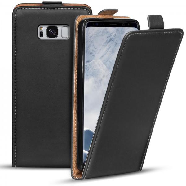 Safers Flipcase für Samsung Galaxy S8 Plus Hülle Klapphülle Cover klassische Handy Schutzhülle