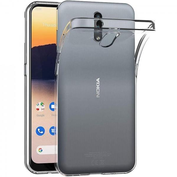 Safers Zero Case für Nokia 2.3 Hülle Transparent Slim Cover Clear Schutzhülle
