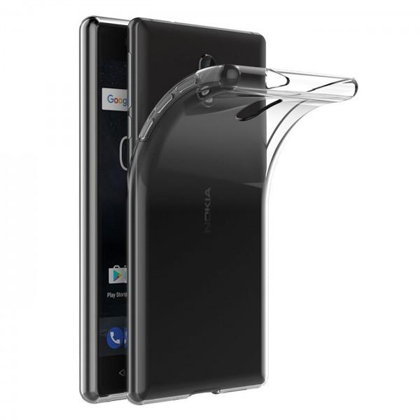 Safers Zero Case für Nokia 2.1 Hülle Transparent Slim Cover Clear Schutzhülle