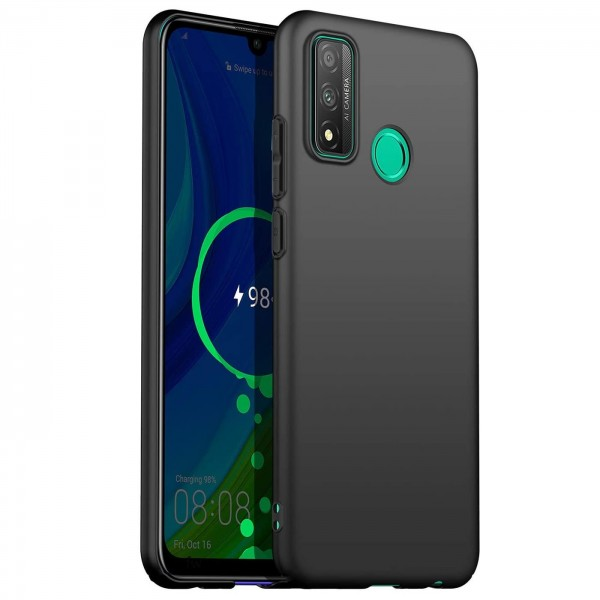Safers Classic TPU für Huawei P Smart 2020 Schutzhülle Hülle Schwarz Handy Case