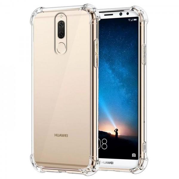 Safers Rugged TPU für Huawei Mate 10 Lite Schutzhülle Anti Shock Handy Case Transparent