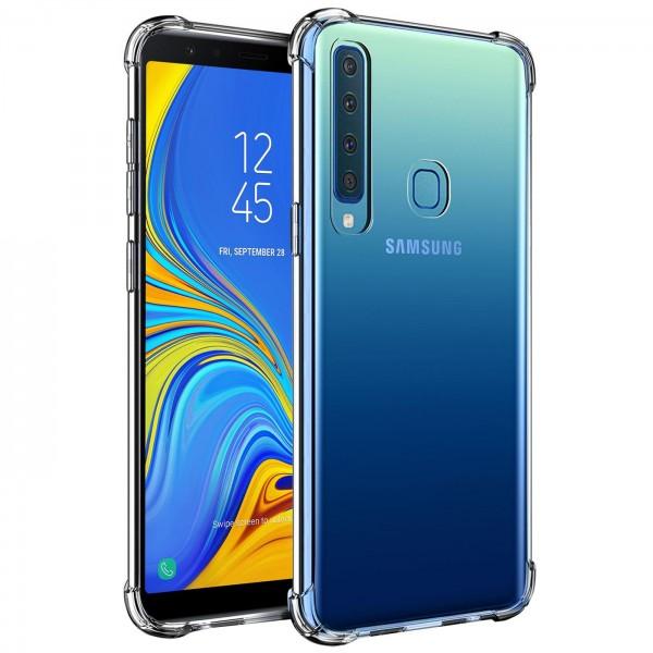 Safers Rugged TPU für Samsung Galaxy A9 2018 Schutzhülle Anti Shock Handy Case Transparent