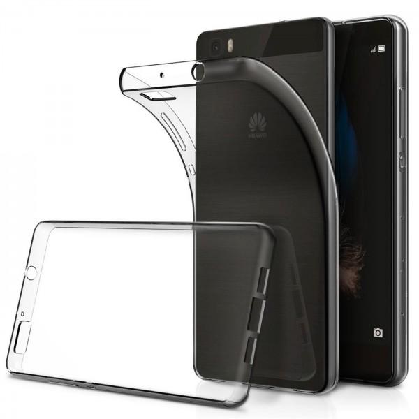 Safers Zero Case für Huawei P8 Lite Hülle Transparent Slim Cover Clear Schutzhülle