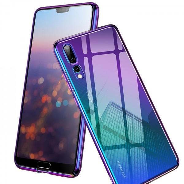 Safers Twilight Hülle für Huawei Y5p Schutzhülle Handy Farbwechsel Case