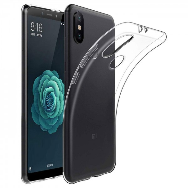 Safers Zero Case für Xiaomi Mi A2 Lite Hülle Transparent Slim Cover Clear Schutzhülle
