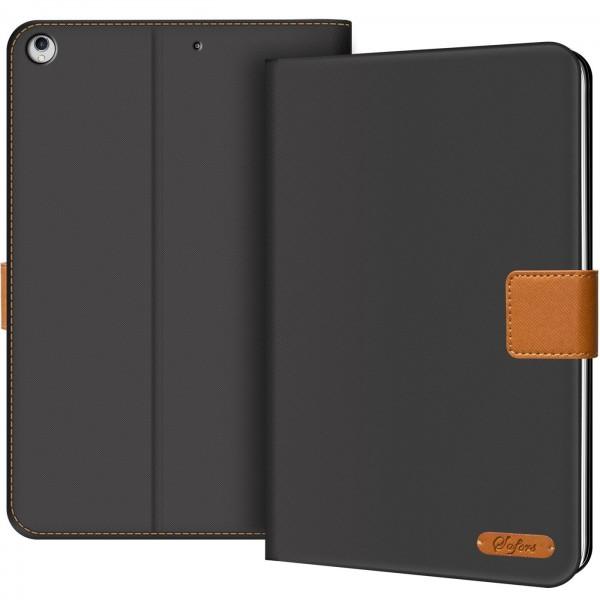Safers Texture Case für iPad Air (1. Generation) Hülle Tablet Tasche mit Kartenfach