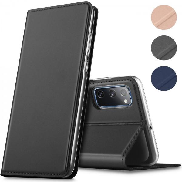 Safers Electro Flip für Samsung Galaxy S20 FE Hülle Magnet Case Handy Tasche Klapphülle