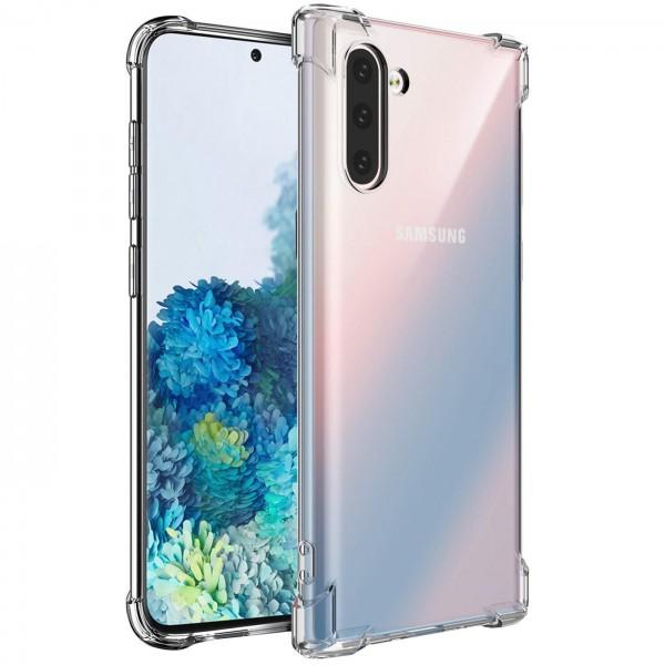Safers Rugged TPU für Samsung Galaxy Note 10 Schutzhülle Anti Shock Handy Case Transparent