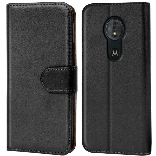 Safers Basic Wallet für Motorola Moto G6 Play Hülle Bookstyle Klapphülle Handy Schutz Tasche