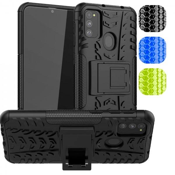 Safers Outdoor Hülle für Samsung Galaxy M30s / M21 / M31 Case Hybrid Armor Cover Schutzhülle