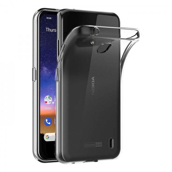 Safers Zero Case für Nokia 2.2 Hülle Transparent Slim Cover Clear Schutzhülle