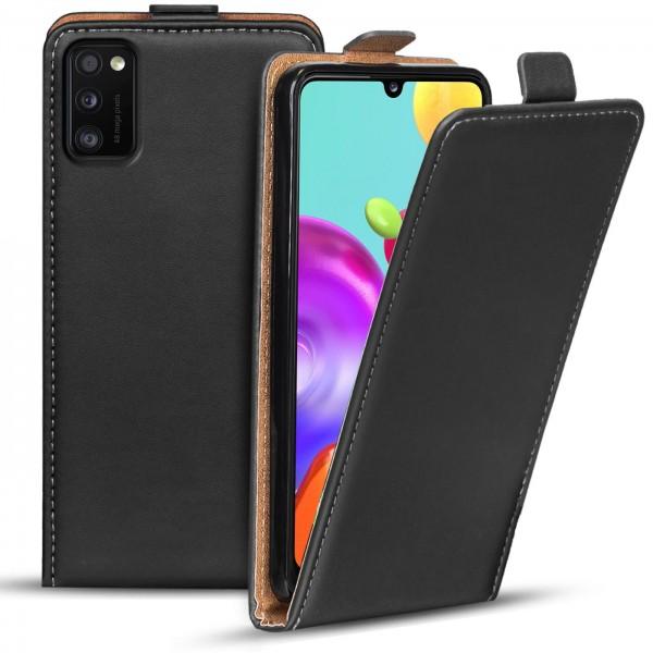 Safers Flipcase für Samsung Galaxy A41 Hülle Klapphülle Cover klassische Handy Schutzhülle