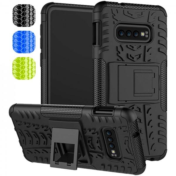 Safers Outdoor Hülle für Samsung Galaxy S10e Case Hybrid Armor Cover Schutzhülle