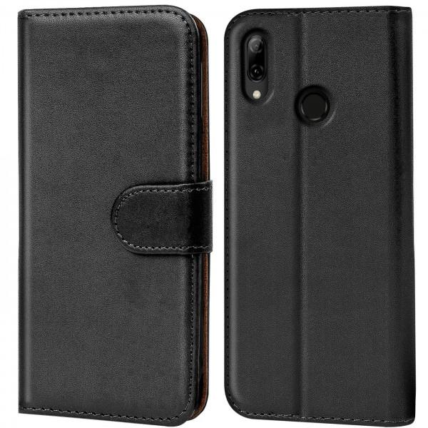 Safers Basic Wallet für Huawei P Smart Z Hülle Bookstyle Klapphülle Handy Schutz Tasche