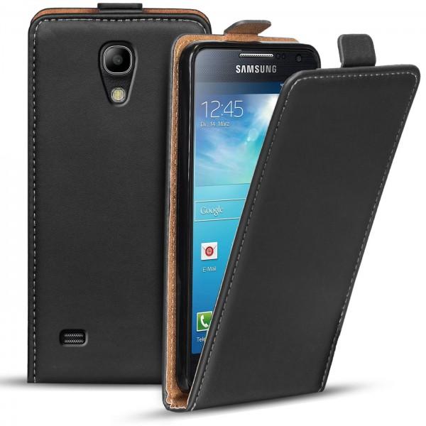 Safers Flipcase für Samsung Galaxy S4 Mini Hülle Klapphülle Cover klassische Handy Schutzhülle