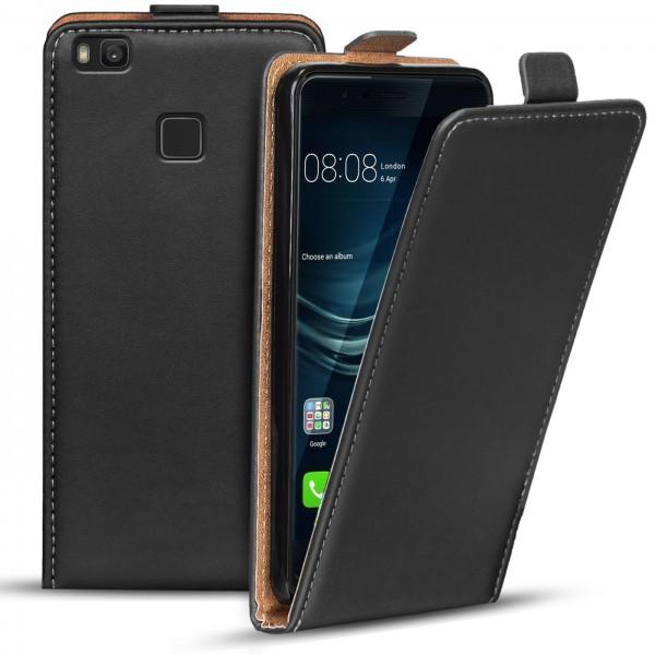 Safers Flipcase für Huawei P9 Lite Hülle Klapphülle Cover klassische Handy Schutzhülle