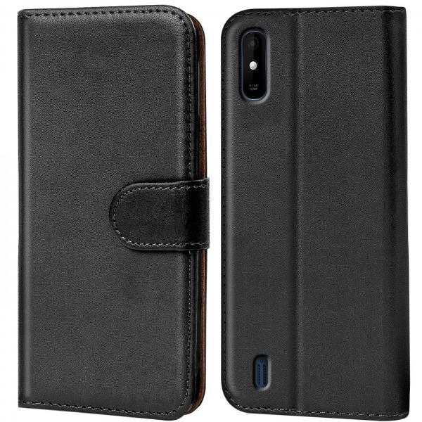 Safers Basic Wallet für Wiko Y81 Hülle Bookstyle Klapphülle Handy Schutz Tasche