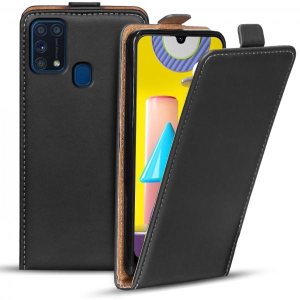 Safers Flipcase für Samsung Galaxy M31 Hülle Klapphülle Cover klassische Handy Schutzhülle
